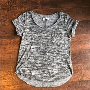 Abercrombie & Fitch Knitted Tee with Pocket